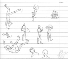 Parkour Poses by WhY-uS