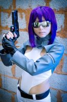 Major Motoko Kusanagi::::: by Witchiko