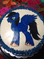 Lightning Streak Birthday Cake by RJ-Streak