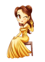 Chibi belle by ChocolaPeanut
