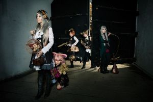 Steampunk AiW: Unlikely Heroes by XiaoBai
