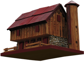 Birdhouse Clear-cut by WDWParksGal-Stock