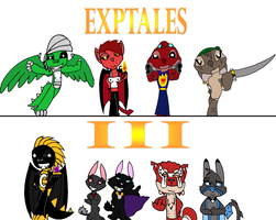 Exptales III Cover by SaintHeartwing