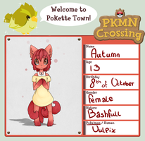 PKMN-Crossing - Autumn by NoyiiArts