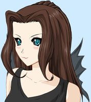 Me as a...uhm...demon...thing by Dormant-Levi-Lullaby