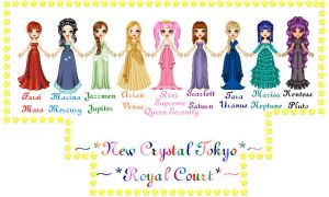 New Crystal Tokyo Royal Court by SailorMoonParadise