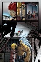 ANGEL SIGHT PAGE 6 by Sandoval-Art