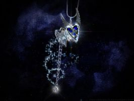 Starry Sky Locket Wallpaper by featherpen13