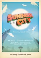 Summer In The City by ameba2k