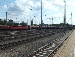 DBS 151-028 with boiler train by damenster
