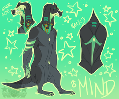 mind ref sheet by papafe