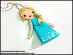 Elsa Necklace by GrandmaThunderpants