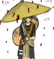 Naruto:Gaara in the rain? by Roseflare