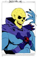 Skeletor Sketch By Nathankroll by Kenkira