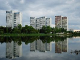 Greentown Zelenograd Greencity by Angelov-net