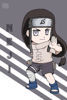 Naruto: Chibi Neji-san by The-PirateQueen