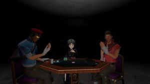 Playing of the poker by sonicdevil18