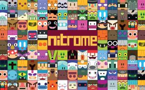 Nitrome characters by Nalthar