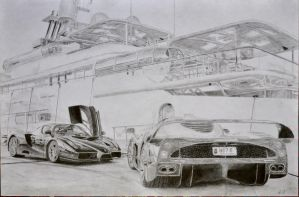 MC12 and Enzo by waaasup