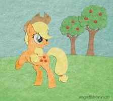 Felt Applejack by VeryGood91