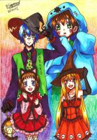 Happy Halloween!! =3 by JasiChan17