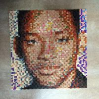 Will Smith in beads by MaryJaneee