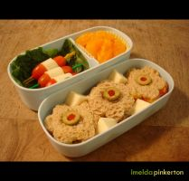 colorful bento by imeldapinkerton
