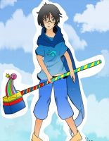Homestuck: John Egbert by Drawer-Y