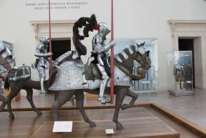 Mounted Knight group 3 by oldsoulmasquer