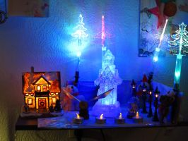 Christmas Village. 1 by CaringheartTTR