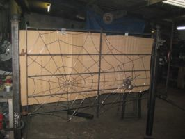 Spider web Railing by theforgery