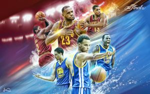 NBA Finals 2015 Wallpaper by skythlee