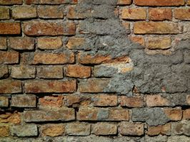 Old Brickwall 02 by Limited-Vision-Stock