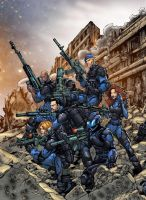 CONTRA Blue Team by ContraAlliance