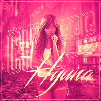 Hyuna - Change (Fan Made Album Cover) by Cre4t1v31