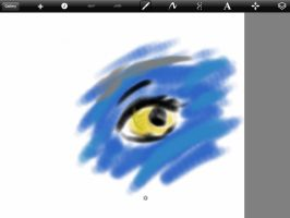 Avatar child's eye by jess-the-red-head