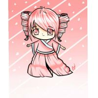 Cherry Blossom Chibi by CocoCharms