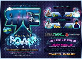 RAGE FOAM PARTY FLORIDA by baker2pd
