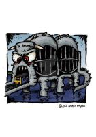 Gallery Card: Brunel Bridge Monster by stuartmcghee