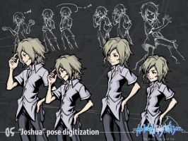 """Joshua"" Pose digitization by wewy"