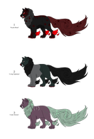 Fall/Halloween Adopts - Myth Adopts - Adopted by Feralx1