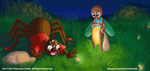 'Anansi and Firefly' - A Calendar Project by langilalastudios