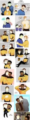 Star Trek art dump 7 by MooseFroos