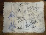 Thorins Map (with autographs) by Tharjana