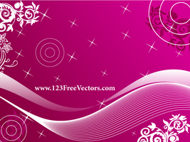 Free Pink Background Vector by 123freevectors