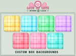 CBox BG - Pretty in Plaid by firstfear