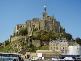 Mont Saint Michel by 4-toes