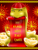 Exoro Choice's 2013 Chinese New Year Cards 11 by ExoroDesigns