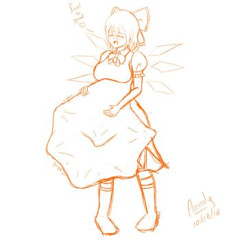 Cirno Vore by Anndygirl