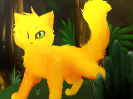 +Squirrelflight+ by Spottedfire-cat